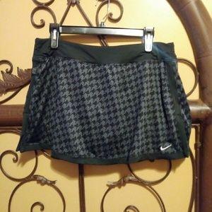 Nike dri fit workout fitness skirt